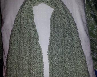 openwork knit scarf