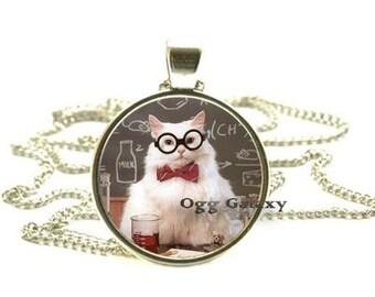 Chemistry Cat Meme Pendant