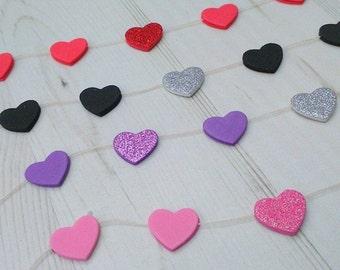 Mini Heart Garland