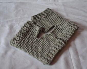 Crochet,Yoga,Socks,Handmade,Soft,Acrylic,Grey