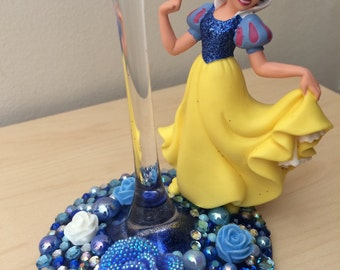 Snow White wine glass