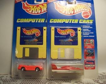 Hot Wheels Computer Cars