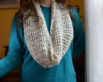 Infinity Scarf (White)