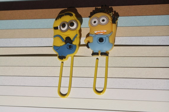 minion paper clips form the despicable me movies perfect as