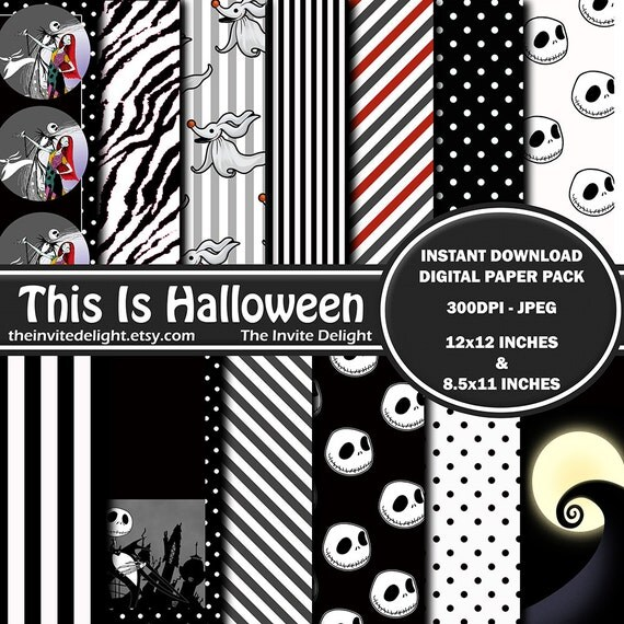 nightmare before christmas this is halloween midi file
