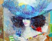 Oil On Canvas - DREAMING - Fine Art Print, Photography fine art print, Art media, Oil, Painting, Geecle canvas prints, wall art, home  décor