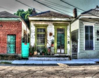 New Orleans Shotgun House