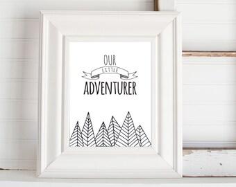 Our Little Adventurer Print
