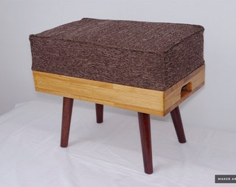 New Retro Design Ottoman Pouf Stool