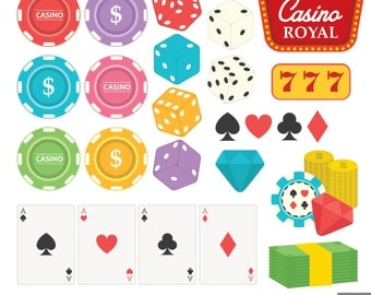 Gambling Digital Clipart