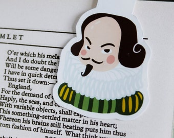 William Shakespeare Bookmark