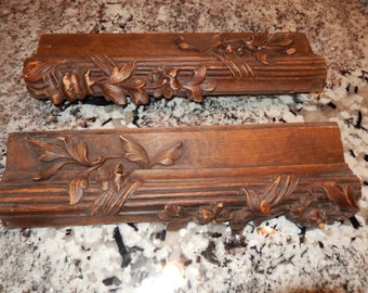 ANTIQUE ARCHITECTURAL WOOD Carvings