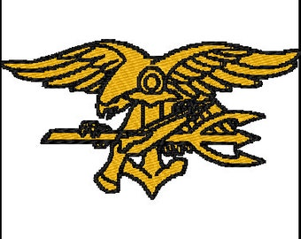 US Navy Trident Embroidery Design