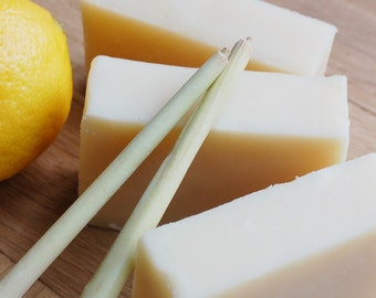 Handmade Lemongrass Shea Butter Soap
