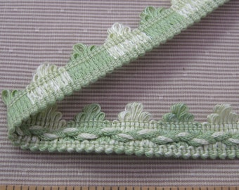 Celery Green Loop Fringe