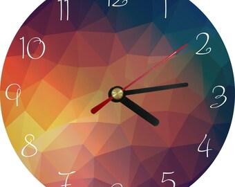 Wall Clock - Wall Decor - Rustic Home Decor - rustic wall clock