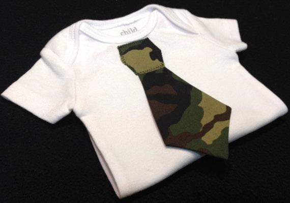 Tie Onesie - Camouflage