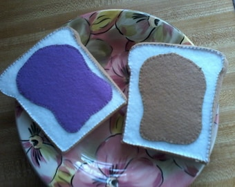 Large  Nut Butter and Grape Jelly Sandwich