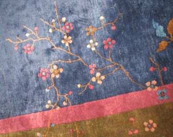 Antique Decorative Chinese Art deco Rug