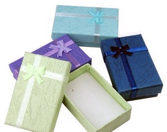 ADD ON ONLY, Gift box & tracking, receive your jewelry in a box-paper jewelry box