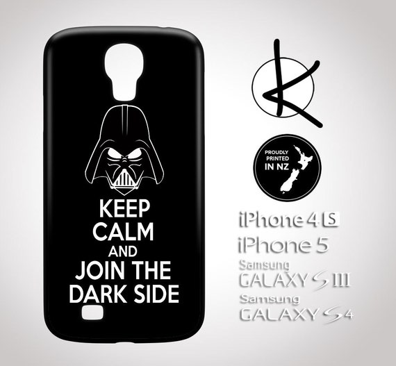 Keep Calm And Join The Dark Side - iPhone 4/4S, 5/5S, 6 and Samsung Galaxy S3,S4, S5