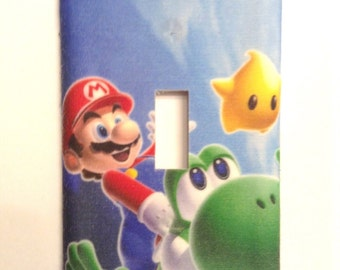 Mario light switch cover