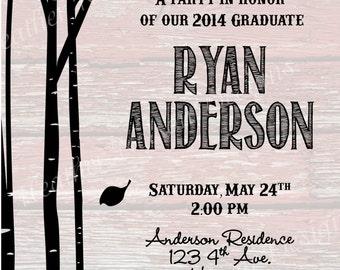 Black Birch Barn Graduation Announcement