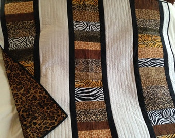 On Safari Baby Quilt