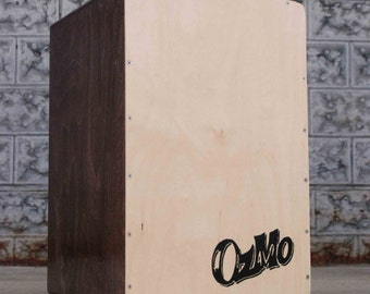 OzMo Cajon Drum : Handmade Drum, Cajon
