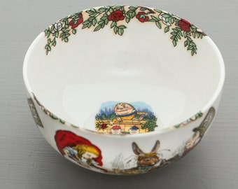 Alice In Wonderland Tea Party Sugar Bowl