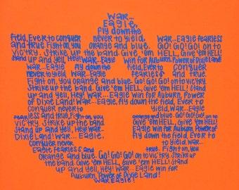 Auburn Fight Song Canvas