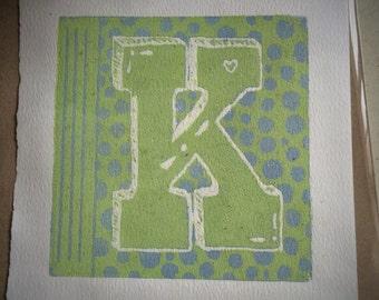 Letter ' K '