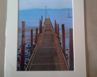 view of a jetty photo mounted
