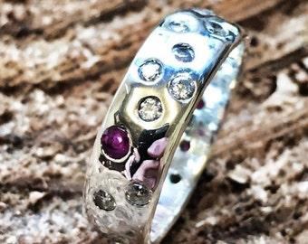 Lost gems ruby ring