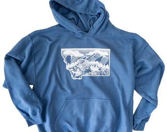 Montana Rise Fly Fishing Hoody