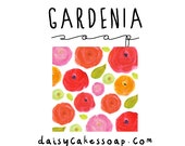 Gardenia, a Smooth Floral Body Bar with Shea Butter