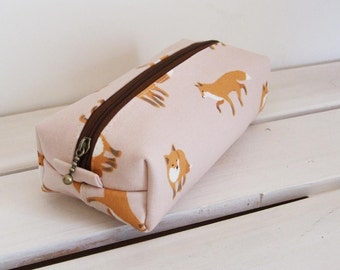 Long box pouch - fox