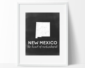 New Mexico Printable