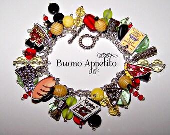 BUONO APPETITO Artisanal Charm Bracelet