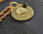 Mt. Hope Bridge Token Necklace - Quahog