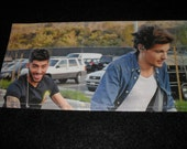 Biking with the Boys-Zayn and Louis-One Direction- Magazine Wallet