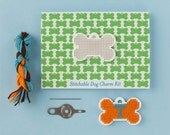 Stitchable Dog Charm Kits