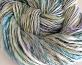 Water Lillies bulky Merino/Bamboo luxury handspun yarn