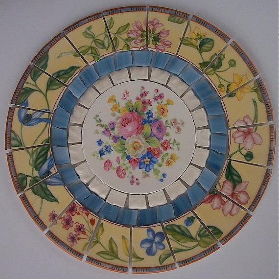 China Mosaic Tile Set 8 1 4 Arrangement Design Shabby