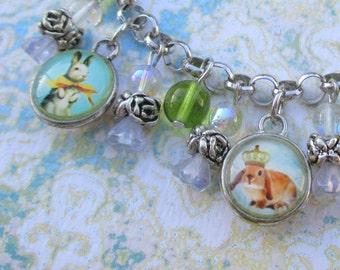 Royal Bunny Bracelet