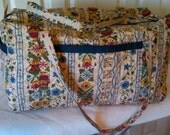 Large Duffle Bag in Multi Color Floral