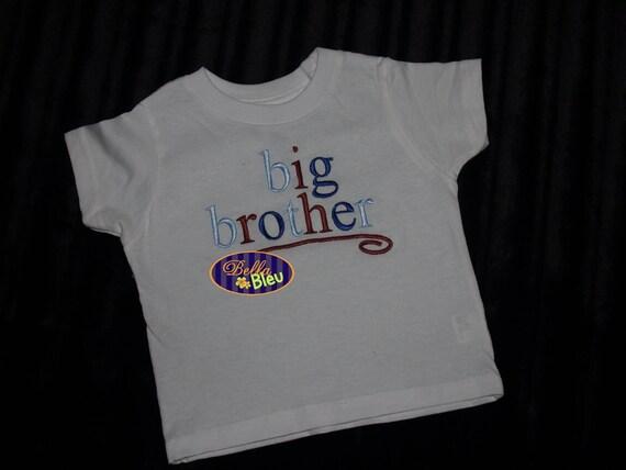 Big Brother Big Sister tshirt tee shirt Size 2T to 8