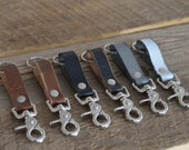 Leather Key Fob - Foster Weld
