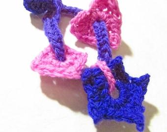 Charm Bracelets Crochet Pattern