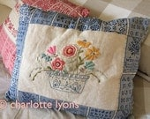 camilla: flower bowl embroidery sampler to stitch